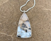 Dendrite Agate Opal pendant