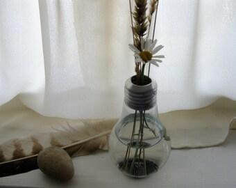 Freestanding Light Bulb Vase