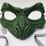 Reserved * for RP * Green Reptile Mask