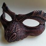 Reserved ** Custom Copper Reptile Mask