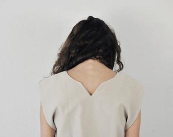 silk top, boxy silk shirt, pleated shirt, striped shirt, shirt with cut-outs