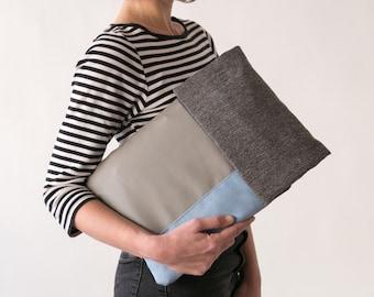 Grey Laptop Sleeve, Gray Laptop Case, Padded Laptop Sleeve, Padded laptop Case, Laptop Sleeve, Laptop Case, Mac Sleeve, Mac Case, Mac Cover