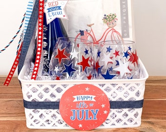 July 4th Tags | July 4th Gift Tags | Patriotic Gift Tags | 4th of July Printables | Patriotic Printables | Happy 4th of July Tags