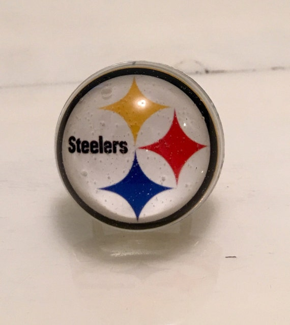 Pittsburgh Steelers Ring Steelers Ring Football Ring Etsy