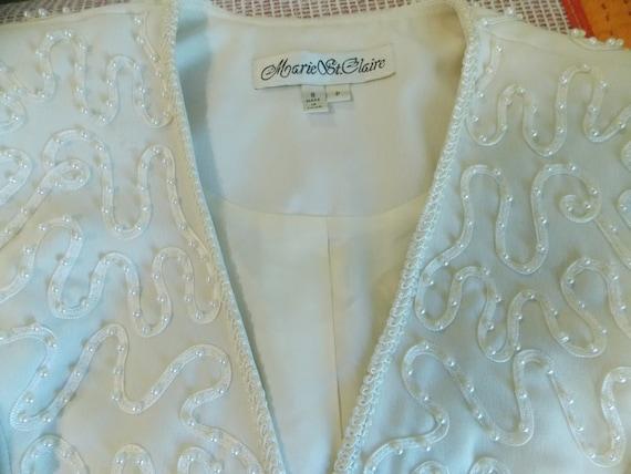 MARIE St. CLAIRE  Vintage Suit - Lace Ribbon and … - image 4