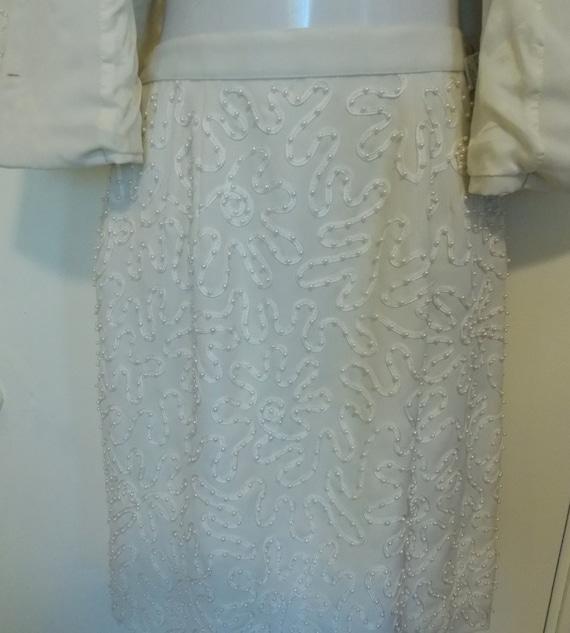 MARIE St. CLAIRE  Vintage Suit - Lace Ribbon and … - image 5