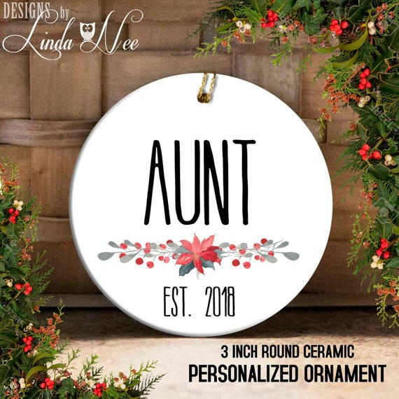 image 0 - Aunt Ornament Gift For Aunt Aunt Christmas Gift Christmas Etsy