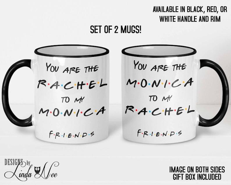 Sind GeschenkeFreundin Kaffee Zum Tassen BecherBeste GeburtstagFan Sie MonicaFreunde Show GeschenkBff RachelMeine Tv MVGSzqUp