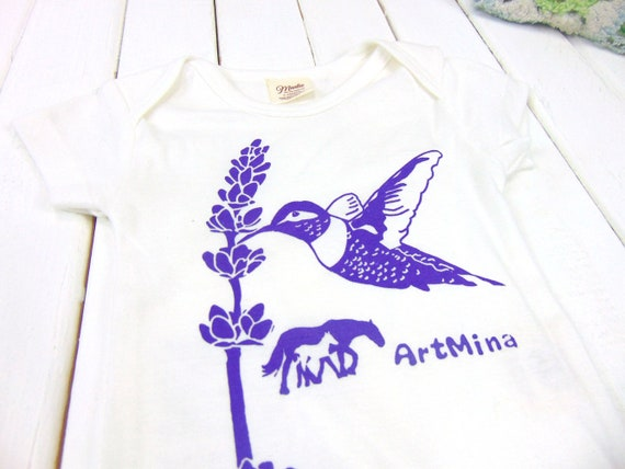 Hummingbird Girls Longshirt Coral Organic Pima Baby Dress Pima Cotton Ivory Nut