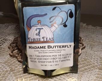 Madame Butterfly Tea NEW Green Tea Great as Iced Tea
