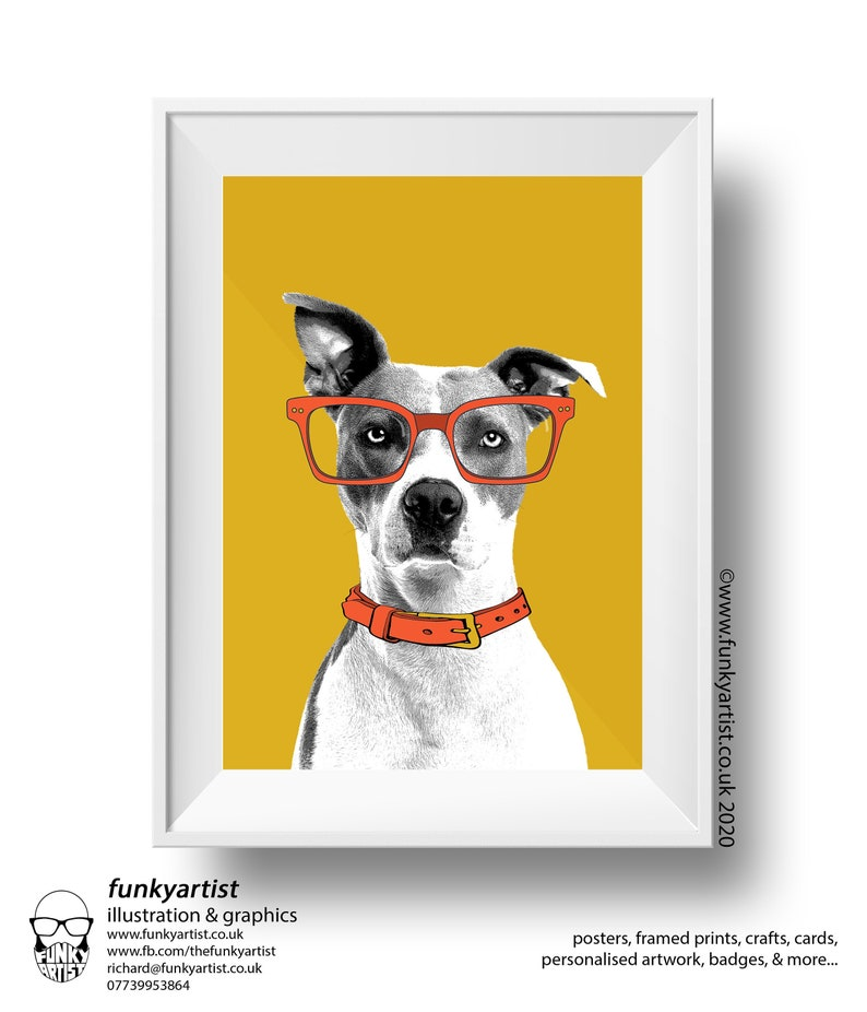 Custom Pet Portraits Bespoke Illustrations of your pet from Yes