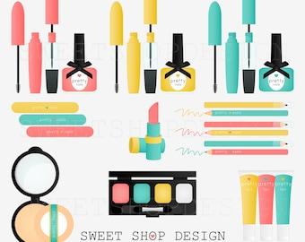pretty things makeup clip art bridal clip art royalty free clip art instant download