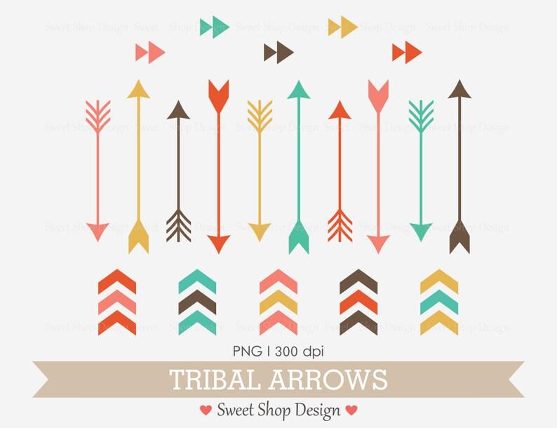 Tribal Arrow Clip Art, Navaho Clip Art, Royalty Free Clip Art, N2, Instant  Download