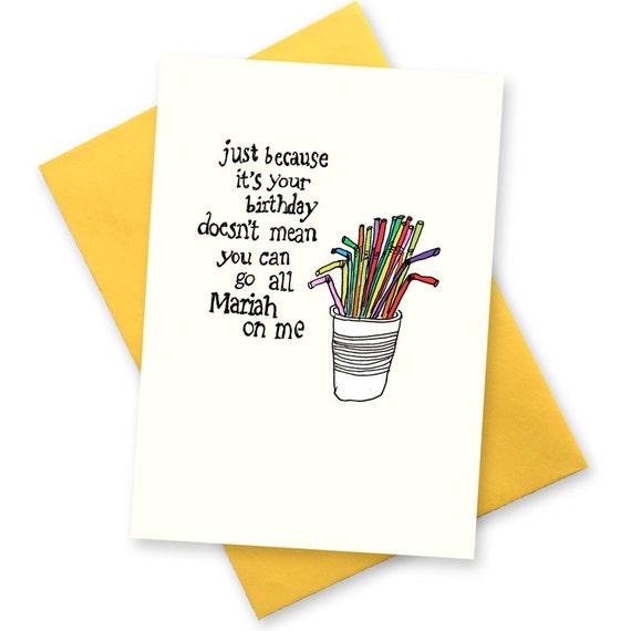 Funny Birthday Card Diva BFF Gay Best Friend Greeting Cards