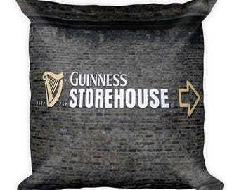 Guinness 18 x 18 Square Pillow