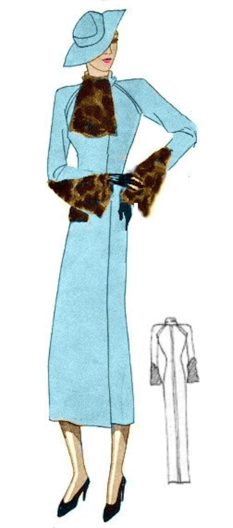 1930s Vintage Dresses, Clothing & Patterns Links Plus Size (or any size) Vintage 1934 Dress Sewing Pattern - PDF - Pattern 1590 Marietta 1930s 30s Patterns Instant Download $8.35 AT vintagedancer.com