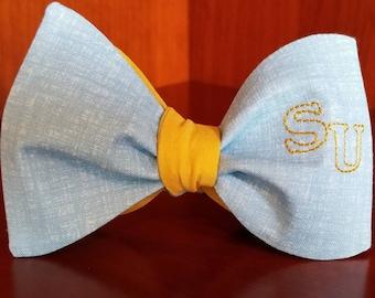"Southern University ""SU"" Freestyle or Pre-tied BowTiesByEDJ"