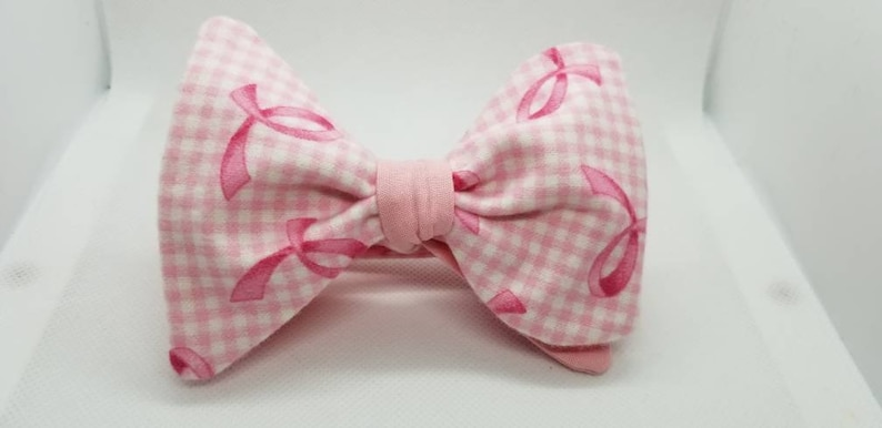 Breast Cancer Awareness BowTieByEDJ image 0