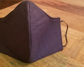 Face Masks Washable Cotton Handmade in the USA with Pocket Filter with Soft Elastic.