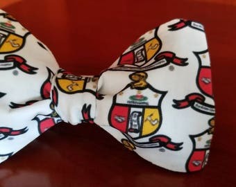 Kappa Alpha Psi Fraternity, Inc. The Shield Freestyle or Pre-tied BowTieByEDJ