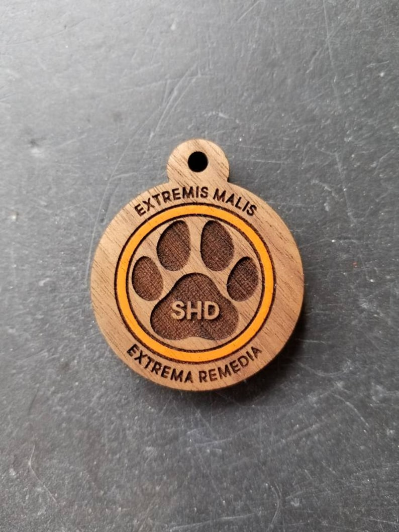 The Division Agent Themed Dog Tag