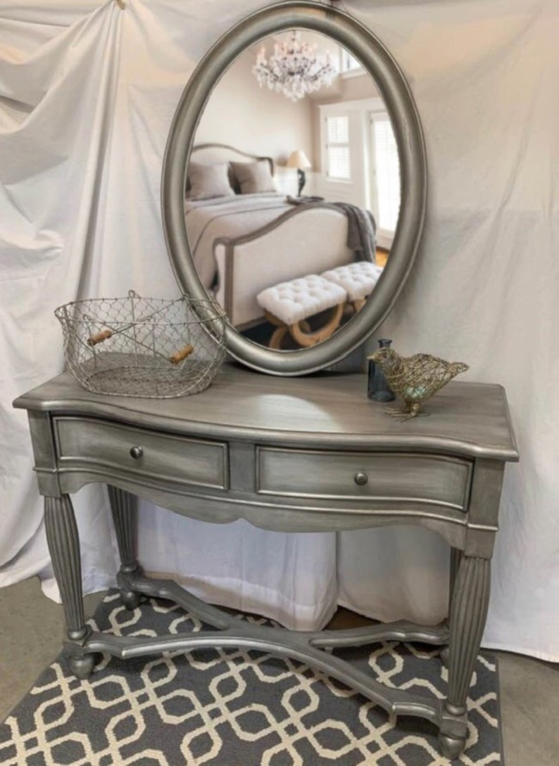 finest selection 04de4 2dbbc SOLD Entry table, console table with matching mirror