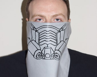 Star Lord mask bandana Guardians of the Galaxy Peter Quill