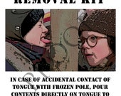 Items Similar To A Christmas Story Frozen Tognue Removal
