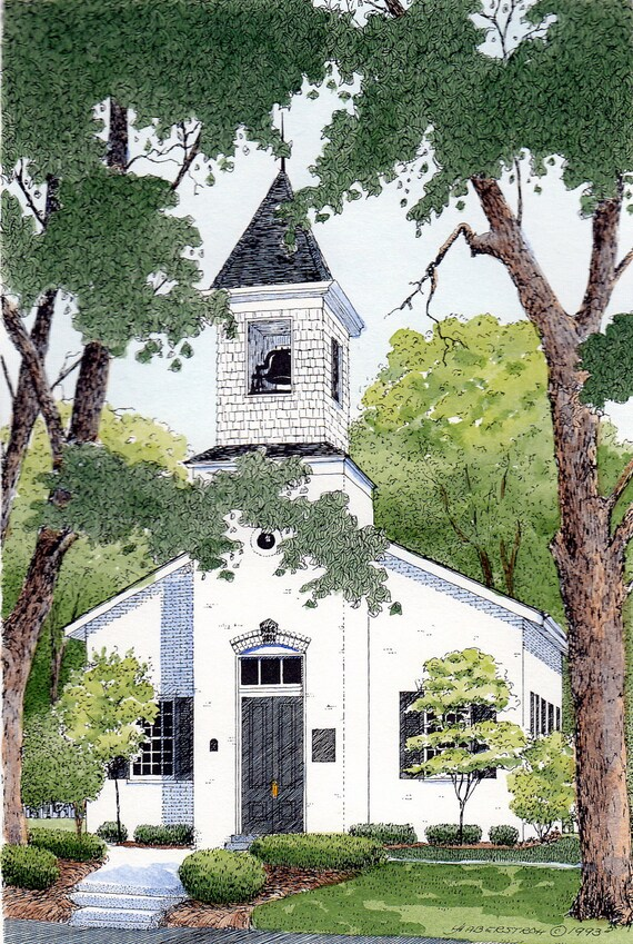 Old Armstrong Chapel In Indian Hill Ohio Etsy