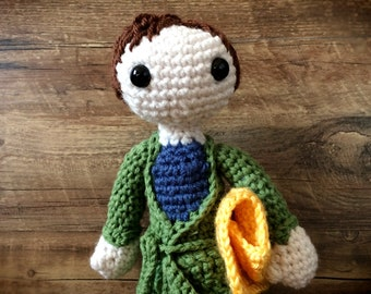 The Hitchhiker's Guide to the Galaxy: Arthur Dent PDF Pattern