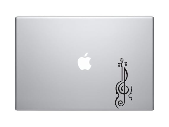 Bass Clef Vinyl Sticker Decal Music Choose Size /& Color