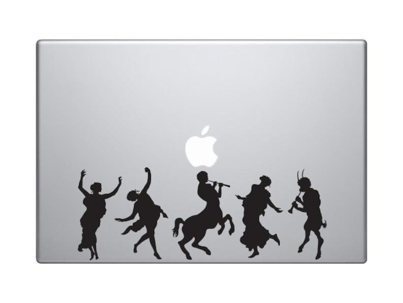 Greek Olympians - God and Goddess Celebration Festival - Macbook Vinyl  Sticker Decal Mac Apple Laptop iPad