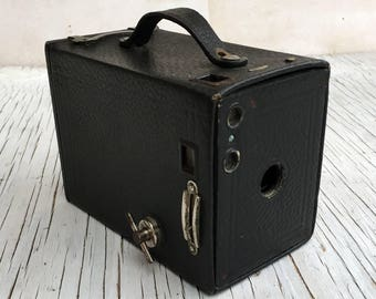 Vintage Canadian Kodak Brownie, No. 2 box camera. Made in Canada. Vintage photography. 1940s/50s.