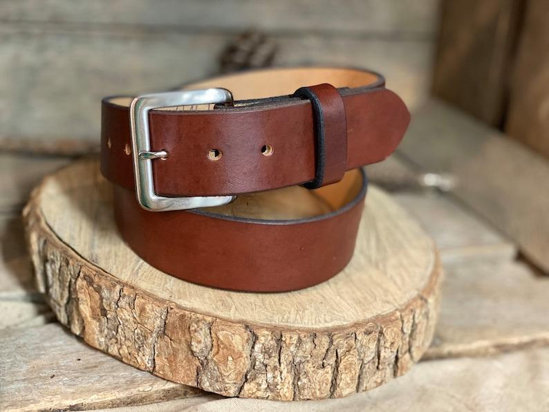 Leather belt 1.5-Full Grain Groomsmen gift monogram leather belt,Men/'s leather belt women/'s leather belt personalized gift USA