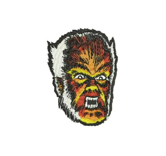 Classic Wolfman Drawing