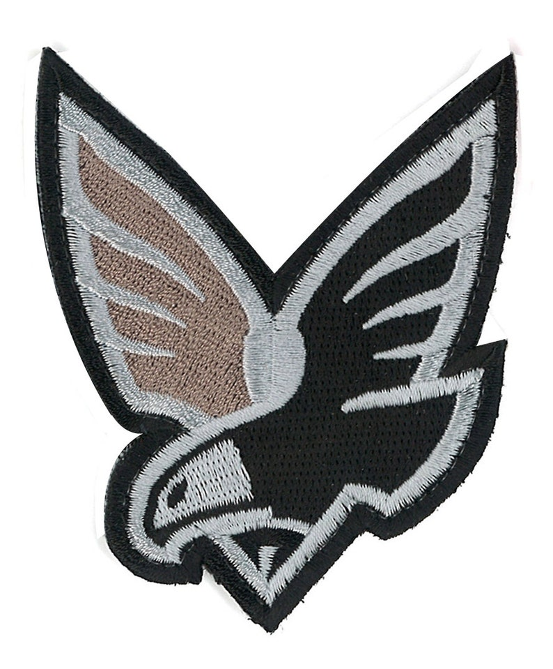 Air Force Bald Eagle Crest Shield Iron-on / Velcro Patch Military Militaria  Morale Badge Patriot Army Hipster WWII Vietnam Patriot Camo Navy