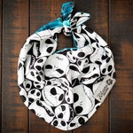 Jack Skellington - Nightmare before Christmas - Halloween Reversible Flannel Dog Bandana