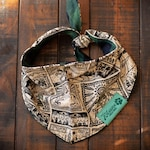 Link Zelda Green Buffalo Check Reversible Flannel Pet Bandana