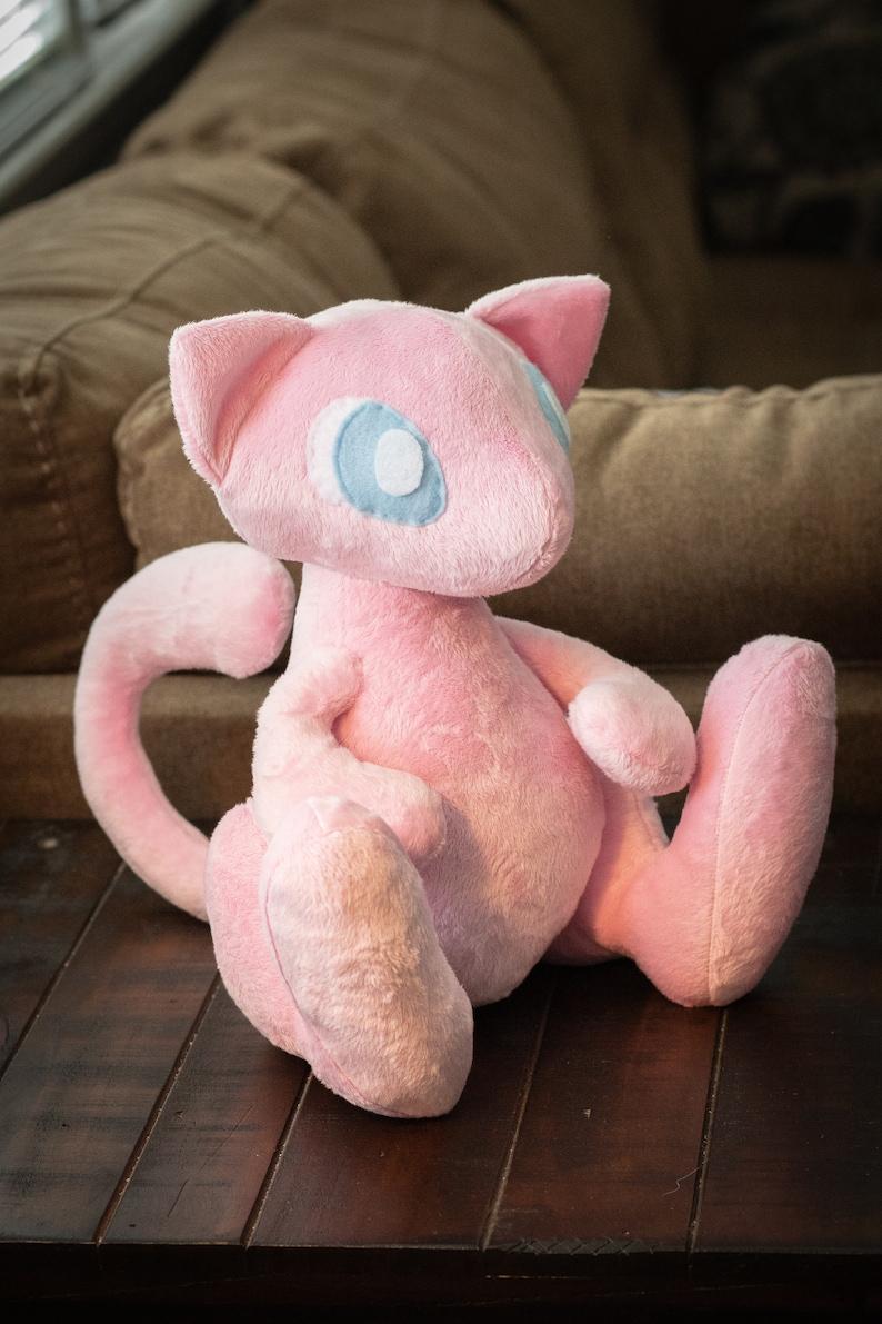 Mew  Pokemon Inspired Minky Plushie image 0