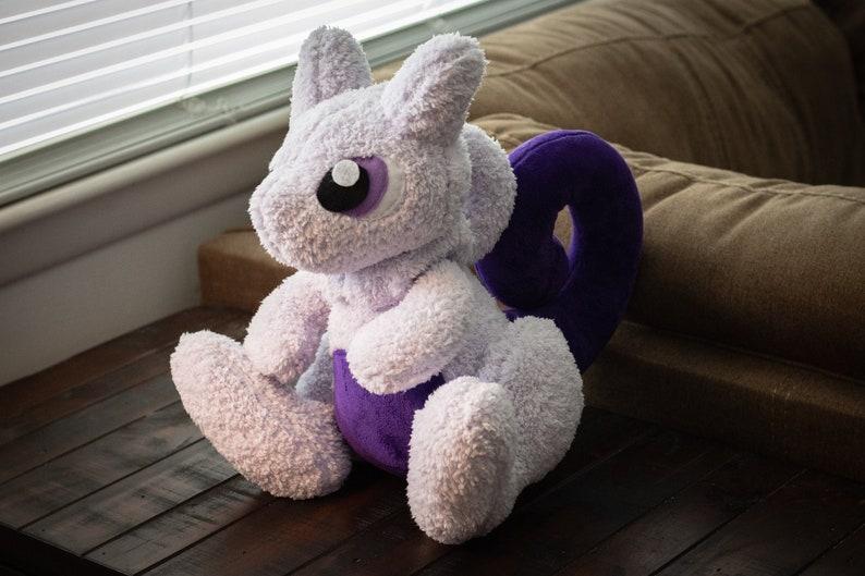 Mewtwo  Pokemon Inspired Plushie image 0