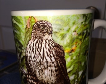 Coopers Hawk Large Coffee Mug 15 Oz
