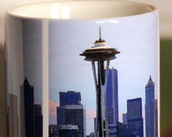 Seattle Space Needle Large Coffee Mug 15 Oz