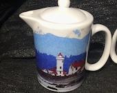 Lighthouse: Teapot - Creamer - Gravy Pitcher