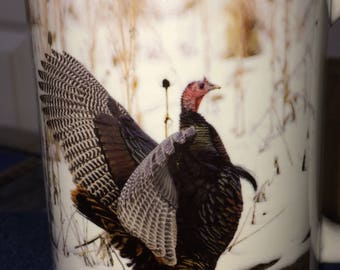 Wild Turkey Large Coffee Mug 15 Oz