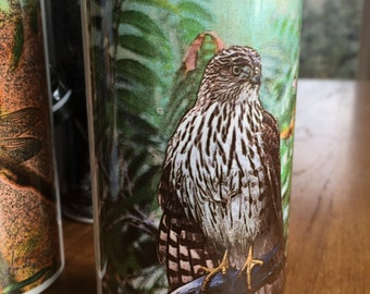 Cooper's Hawk Water Bottle - Aluminum - 20 Oz