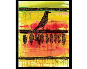 10 Crow Blanket Blank Note Cards