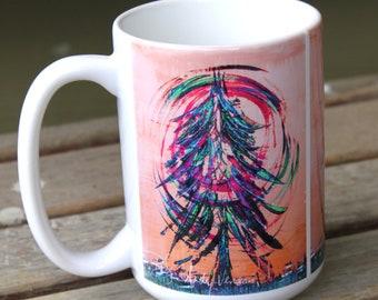 Sunset Tree- Coffee Mug 15 oz.