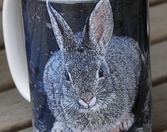 Mountain Cottontail Large Coffee Mug 15 Oz.
