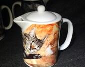 Best Friends' Cats: Teapot - Creamer - Gravy Pitcher