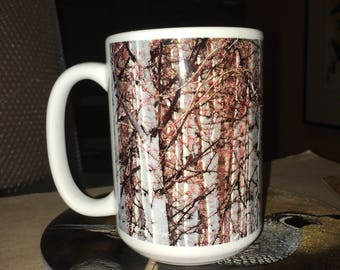 Spring Aspen Large Coffee Mug 15 oz.